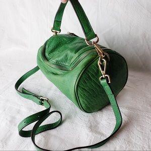 Beautiful studded leather purse